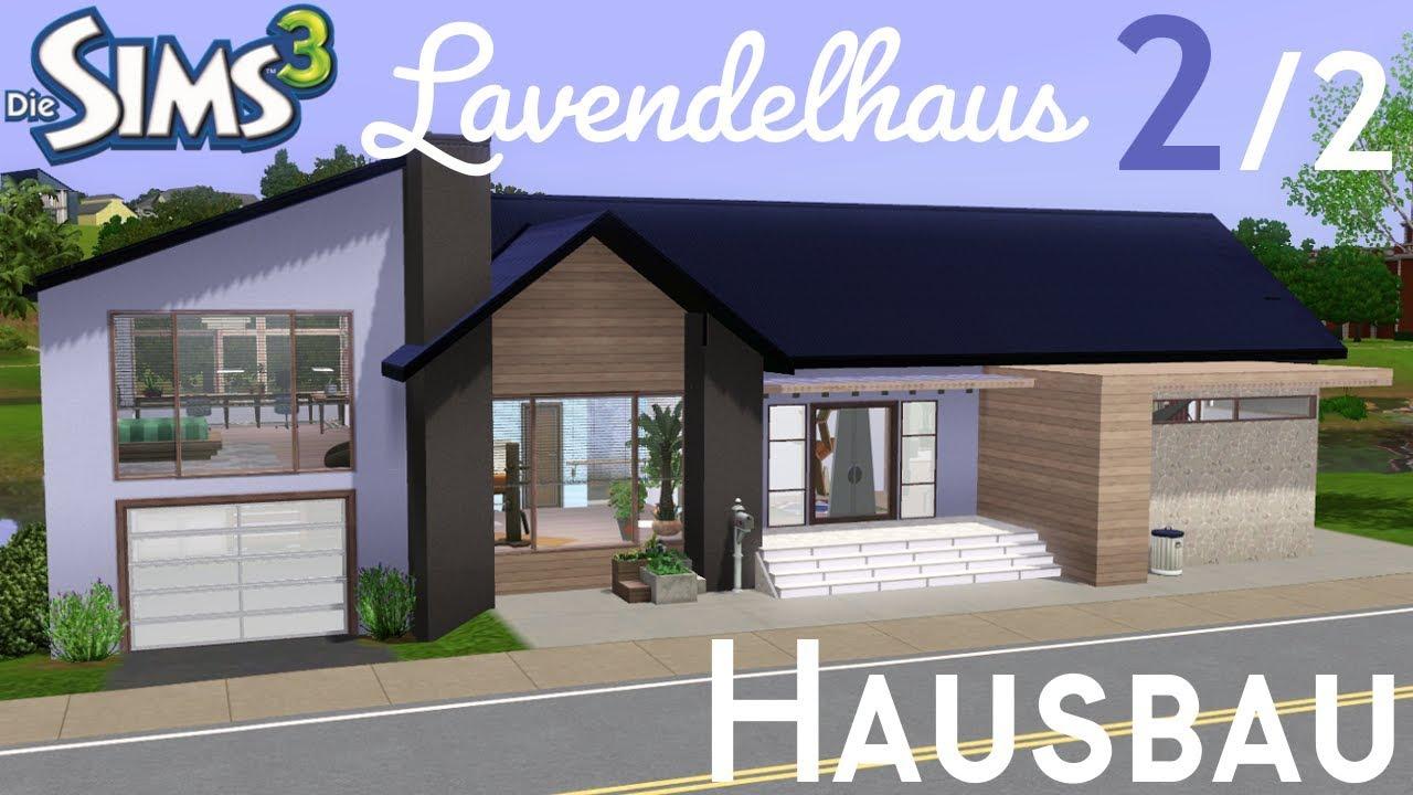 Sims 3 Hausbau - Lavendelhaus [2/2] | Julian & Betti