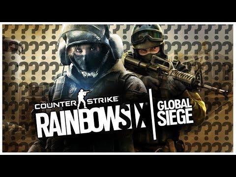 Czy RAINBOW SIX SIEGE to klon CS:GO?