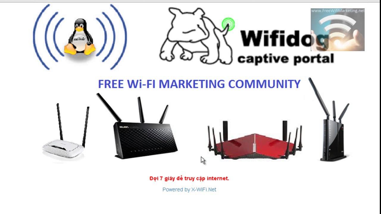 Demo giải pháp quảng cáo WiFi với banner đơn giản X-WiFi-Banner-Simple
