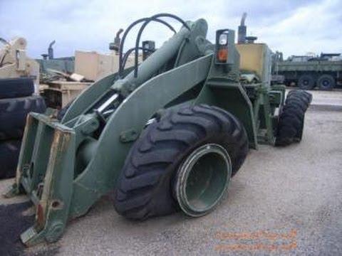 John Deere 644ez Rubber Tired Front End Wheel Loader On
