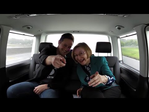 The Carpool Guy and Premier Helen Zille do Carpool Karaoke #carpoolweekSA
