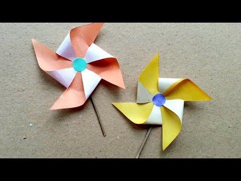 Make Fun Paper Windmill - DIY  - Guidecentral