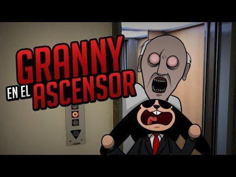 ROBLOX: GRANNY EN EL ASCENSOR  The Scary Elevator