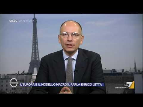 Francia 2017, Enrico Letta: Macron non è la Clinton, ha reso vecchia anche la Le Pen