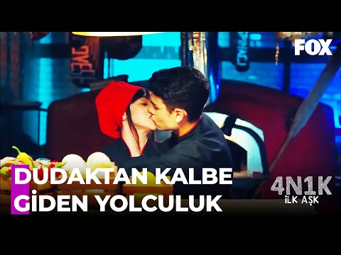 Ali ve Yaprak ÖPÜŞTÜ! - 4N1K İlk Aşk 3. Bölüm