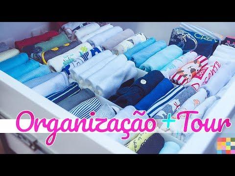 Como Organizar o Quarto do Bebê + Tour