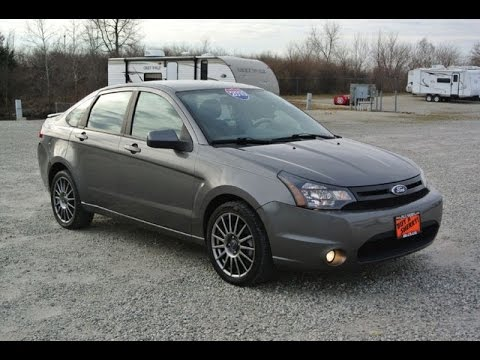 2010 ford focus ses sedan for sale dayton troy piqua. Black Bedroom Furniture Sets. Home Design Ideas