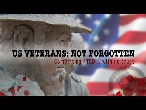 US Veterans: Not Forgotten. Combatting depression... with no drugs.