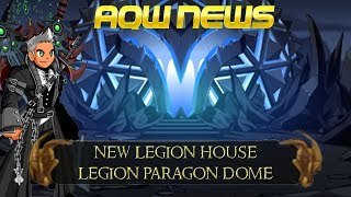 AQW New Legion Paragon Dome House! | New Exclusive Legion Quest