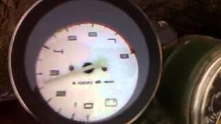 Тахометр от ВАз 2106 на Днепре