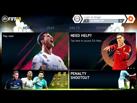 FIFA 14 Mod FIFA 18 Android Offline New Menu Best Graphics with English Commentary