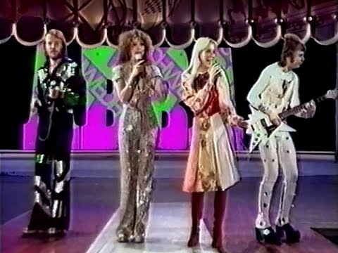 ABBA - Waterloo (Ein Kessel Buntes) east german tv 1974