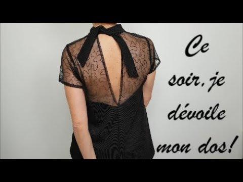 DIY couture : Comment coudre ma robe/ mon top de fête !