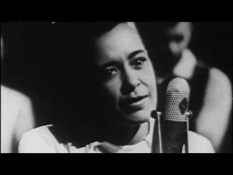 Billie Holiday ft Her All Star Band - Fine & Mellow (CBS Studios Video 1957)
