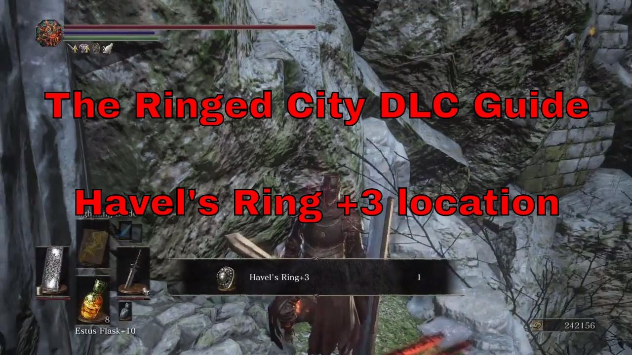 dark souls iii the ringed city dlc havel s ring 3 location