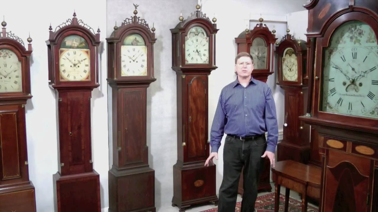Antique Tall Case Grandfather Clock Disassembly Tutorial