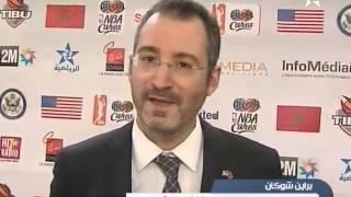 Arriyadia Moroccan Sports Channel Coverage of 3x3 Basketball Program in Casablanca