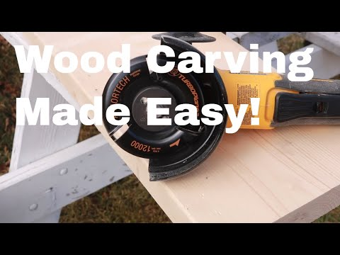 Wood carving tool for beginners! This tool is a must have for anyone who wants to wood carve!