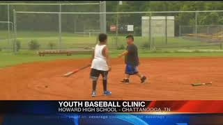 Two-day baseball camp instilling important values in kids