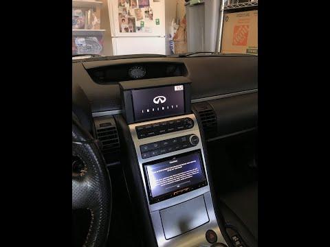 Infiniti G35 coupe JVC stereo