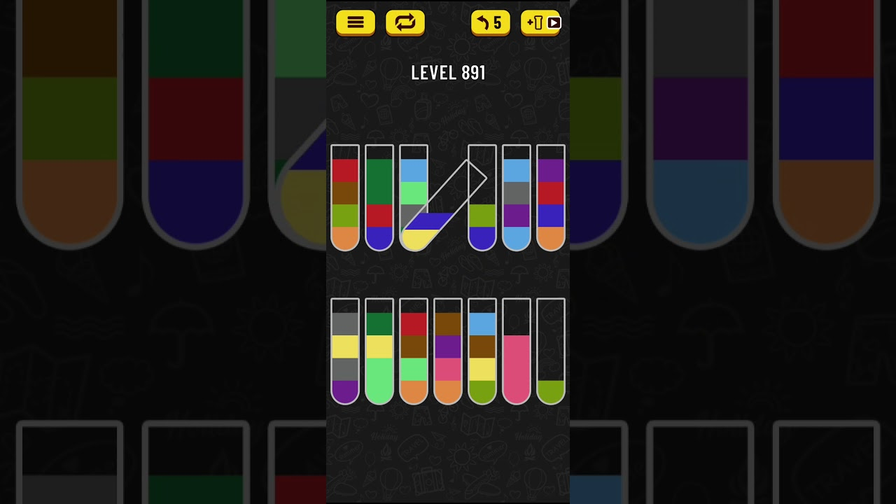Download Water Sort Puzzle - level 891