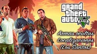 GTA 5 - Armas Ocultas - Localizaciones - Tutorial (Los Santos)