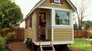 Les mini-maisons, phénomène grandissant aux Etats-Unis