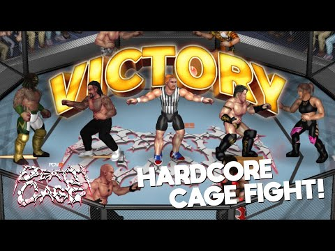 Fire Pro Wrestling World - PCW DEATHCAGE - HARDCORE Cage FIGHT!