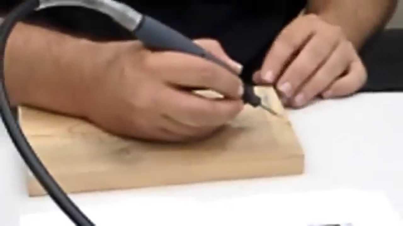 יצירת אומנות בעץ בשיטת כרסום בדרמל
