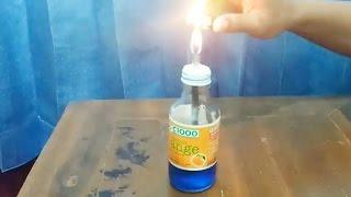 Trik Unik Membuat Botol Api Dengan Alat Sederhana Barang Bekas Di Sekitar Kita