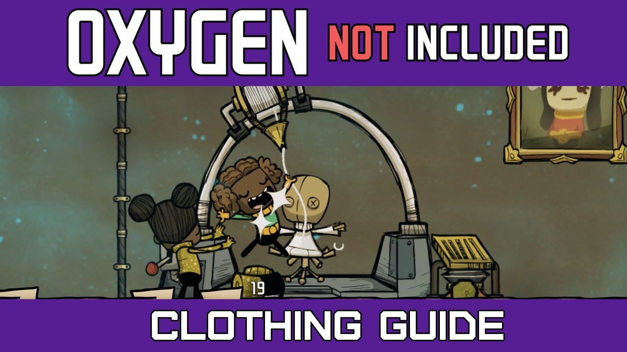 Oxygen Not Included   Clothing Guide   Textile Factory   Snazzy Suit