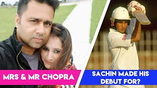 SACHIN made his debut for THIS COUNTRY!   Mrs and Mr Chopra E03   Cricket Trivia
