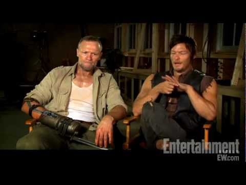 The Walking Dead  Norman Reedus & Michael Rooker