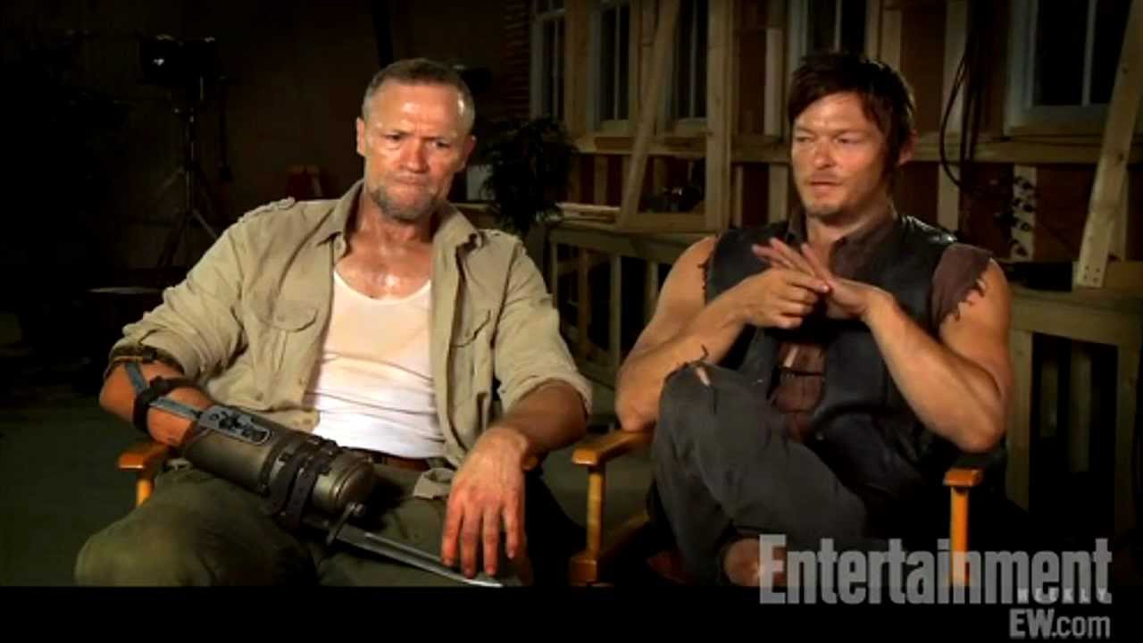 Michael Rooker and norman reedus