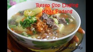 Resep Sop Daging Khas Padang Enak dan Praktis