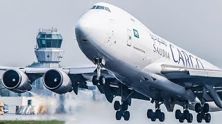 BOEING 747 GHOST LANDING - B747 LOW VISIBILTY APPROACH (4K)