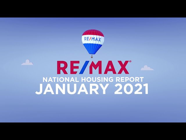 RE/MAX National Housing Report January 2020
