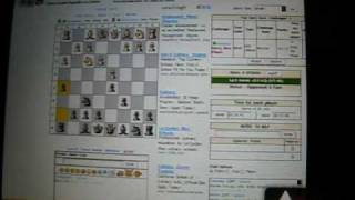 HTC Touch Pro from Sprint running Chess Maniac online