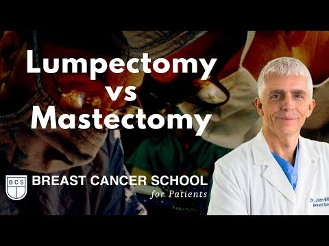Lumpectomy or Mastectomy? It's Your Decision to Make