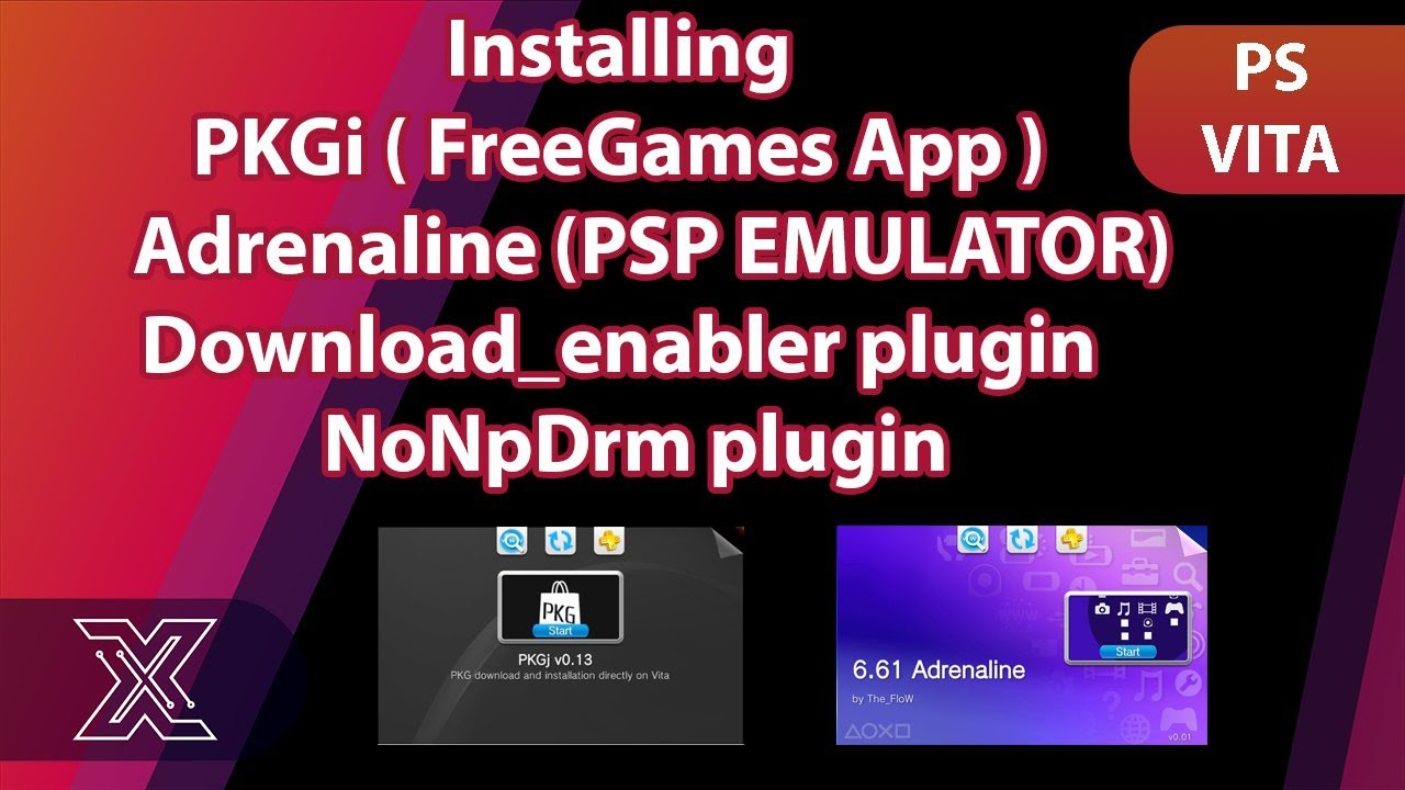 PKGi: PS VITA Freeshop Installing games directly on VITA and Installing  adrenaline 3 68 / 3 67