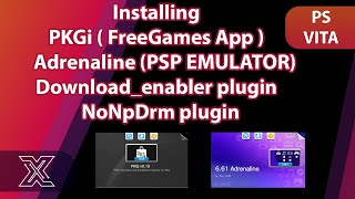PKGj V0 14 PS VITA ADD PSP GAMES - PlayStation Videos