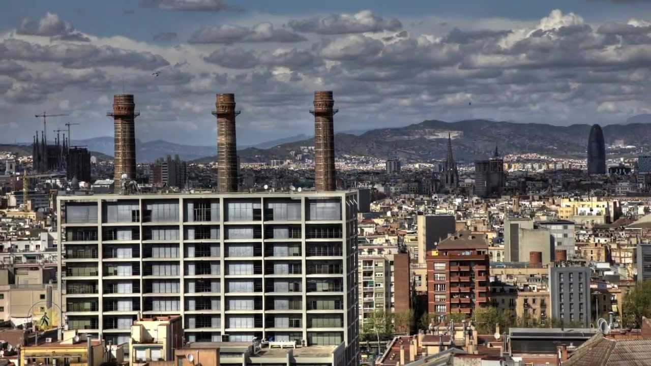 Barcelona Time Lapse