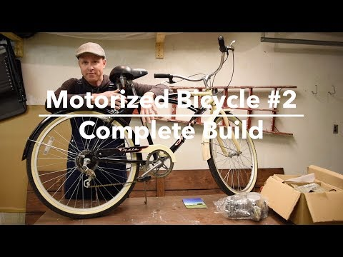Building My 2nd Motorized Bicycle - Complete Bike Build - 80cc Engine Kit
