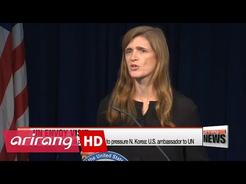 U.S. is willing to use all possible tools to pressure N. Korea: U.S. ambassador to UN