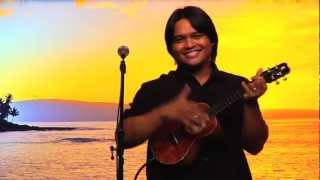 """Somewhere Over The Rainbow"" @SlackKeyShow Derick Sebastian Ukulele virtuoso, Hawaiian"
