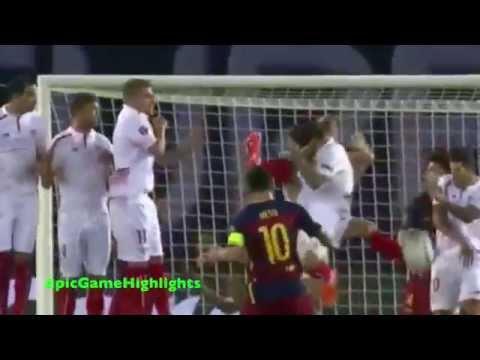 Barcelona vs. Sevilla ● UEFA Super Cup 2015