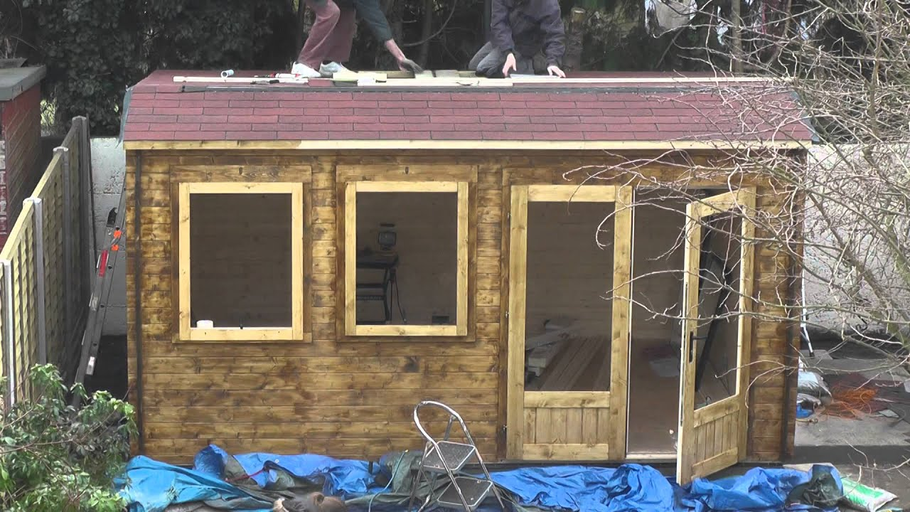 Building Our Dunster House Log Cabin Timelapse Day 6