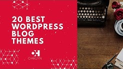 20 Best WordPress Blog Themes [2018]
