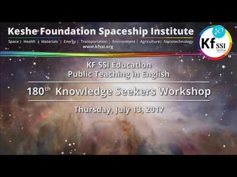 180th Knowledge Seekers Workshop, Thursday, July 13, 2017
