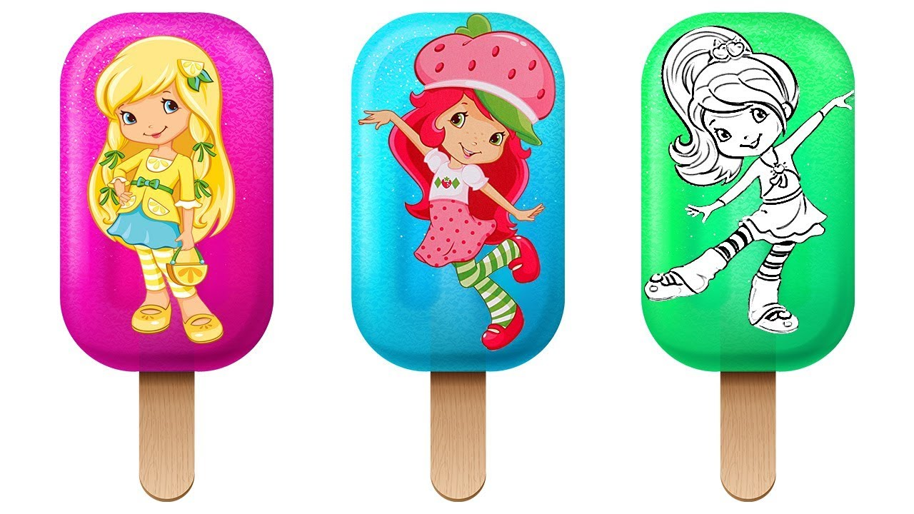 Strawberry Shortcake Coloring Pages Videos For Children Book